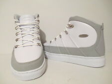 Lugz Mens Pronto Mid MPROML-1510 Leather Fashion Sneakers White/ Glacier Size 8