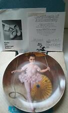 "NEW ""KATIE THE TIGHTROPE WALKER"" COLLECTOR PLATE EDWIN KNOWLES BRADFORD EXCHANGE"