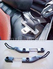 Fiat 124 Spider Seatbelt Guides Set Black New