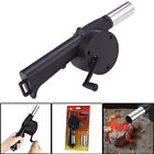 OUTDOOR BBQ FAN AIR HAND BLOWER FOR BARBECUE FIRE BELLOWS POWERED BY HAND CRANK