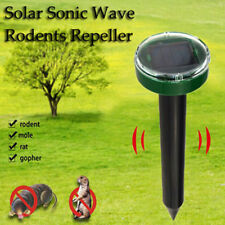 Solar Ultrasonic Snake Mouse Repellers Pest Rodent Repeller Reject Outdoor No1