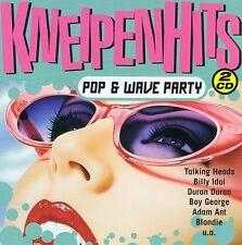 KNEIPENHITS - POP & WAVE PARTY 2 CDs NEU Climie Fisher Arcadia Blondie Talk Talk