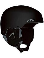 RED Men's Commander Ski Snowboard Helmet Black Small (55-57 CM) - New!