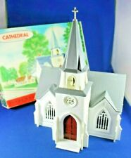 Plasticville - O-O27 - #1904-198 Cathedral - Complete - Boxed