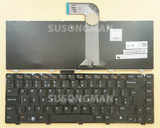 New UK Keyboard For Dell Vostro 1550 2420 2520 3350 3450 3460 3550 Black Frame