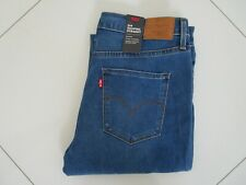Levi's 314 Ladies Blue Wash Mid Rise Shaping Straight Stretch Jeans  Size 30