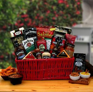 Mens Jim & Jack Together  Grillin Gift Basket
