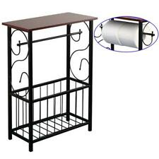 End Sofa Table Holder Magazine Stand Storage Rack Bath Organizer Bathroom Home