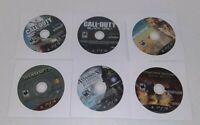 Lot Of 6 Sony PlayStation 3 PS3 Video Games Discs Only Tested Call Of Duty More