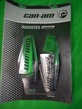 NOS Can-Am 2013-Prior Spyder RT Chrome Side Panel Cap Kit 219400195 OEM