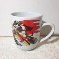 Warner Bros LOONEY TUNES Tazmanian Devil Coffee Mug Taz BMX Bike Cup WB Gibson