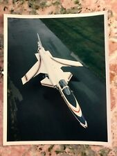 Experimental Aircraft X-29 Nasa Grumman Us Air Force X-Plane Real Promo Photo #2