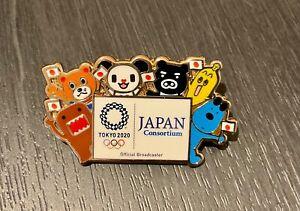 Tokyo 2020 Japan consortium media pin
