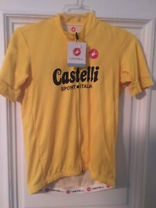 CASTELLI  LIMITED YELLOW JERSEY MEN'S LARGE  NEW