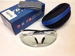 Tifosi Veloce Bike Crystal Clear Fototec Light Night Lens Sunglasses