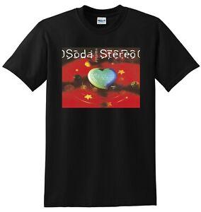SODA STEREO T SHIRT dynamo vinyl cd cover SMALL MEDIUM LARGE or XL