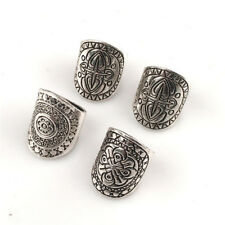 4-Piece Ring Set, Mandala Ethnic Amulet, Bohemian Gypsy Boho Hippie Jewelry