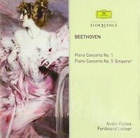 Andor Foldes Ferdinand Leitner - Beethoven: Piano Concertos Nos. 1 & 5 (NEW CD)