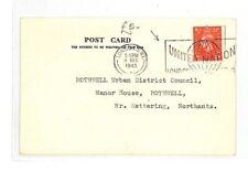 AN187 1945 GB London United Nations Postcard PTS