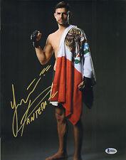 YAIR PANTERA RODRIGUEZ SIGNED AUTO'D 11X14 PHOTO BAS COA UFC 197 192 188 180 G