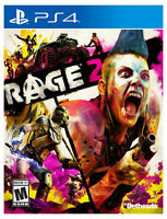 BRAND NEW SEALED Rage 2 - Standard Edition (Sony PlayStation 4, 2019) PS4