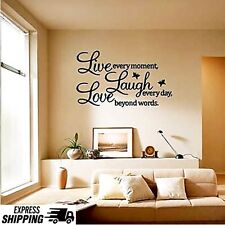Removable Wall Decal Art Sticker Mural Home Living Room Decor Quote 70cm X  50cm