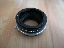 Kipon Tilt Adapter for Nikon F AI Mount Lens to Micro 4/3 E-M1 E-PL6 EP5 ETC