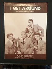 Beach Boys Sheet Music I Get Around 1964 Brian Wilson