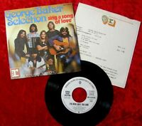 Single George Baker Selection Sing a Song of Love mit P