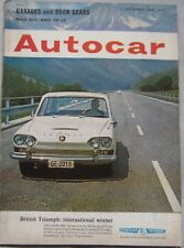 Autocar magazine 11 September 1964 featuring BMW road test, Ford Cortina