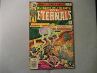 The Eternals #2 (1976, Marvel) Lower Grade