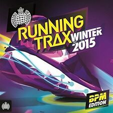 Various Artists - Ministry of Sound Running Trax BPM Winter 2015 CD