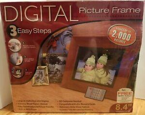 "New Smartparts 8"" Digital Picture Frame Remote SD/MS/MMC/CF/xD 2000 Pics"