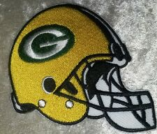 "Green Bay Packers Helmet 3.5"" Iron On Embroidered Patch ~USA Seller~FREE Ship!"