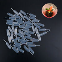 100pcs Plastic Squeeze 4ml Transfer Dropper Disposable Pipettes For Cupcake JF