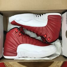 Nike Air Jordan Retro XII Gym Red White 153265 600 Size 6.5y Playoff Taxi XIII X