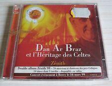 2 CD ALBUM LIVE ZENITH DAN AR BRAZ ET L'HERITAGE DES CELTES 19 TITRES 1998 NEUF