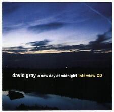 DAVID GRAY - INTERVIEW CD new day at midnight 2002 RARE PROMO iht/Warner 20:46
