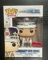 Pop! TV. Shelock: Moriarty with Crown #293 Hot Topic Exc Pre-Release Funko Pop