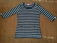 Women's Marks & Spencer Per Una Navy and White striped top UK size 12