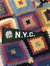 RARE! Store Decoration Polo Ralph Lauren Felt Pennant RRL Limited Edition Rugby