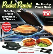 Pocket Panini Stovetop Hot Stuffed Sandwich and Toastie Maker - As Seen On Tv