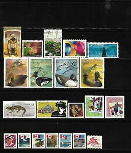 Canada year 2006 all different used stamps off paper #4