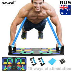 18 in 1 Fitness Complete Push Up Rack Board Stand Workout Training Gym Exercise