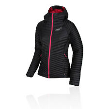 Inov8 Womens Thermoshell Pro Full Zip Running Jacket Top Black Sports Windproof