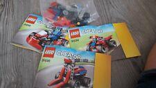 Lego Creator 31030 - Go-Kart Quad Gabelstapler komplett