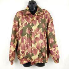 fc852c016b6a0 Fuda International Bomber Jacket Women Size M Pink Floral Print Silk