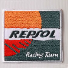 1PC. REPSOL RACING TEAM OIL AUTO LUBE EMBROIDERED IRON ON PATCH BADGE CHEST CAP