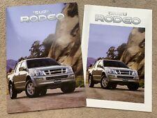 2004 Isuzu Rodeo Car Brochure (UK)