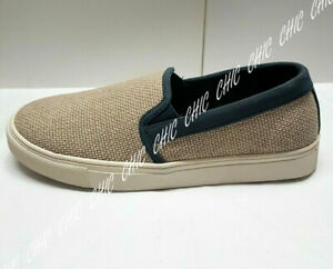 M&S Mens Weave Slip On Summer Canvas Boat Deck Sailor Loafers Mocassin Shoes